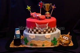 cars birthday cake 3