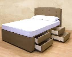 Tall Queen Size Bed Frame Queen Size Platform Bed With Storage