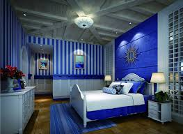 Cool And Modern The Blue Bedroom