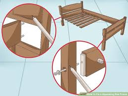 how to fix a squeaking bed frame wikihow