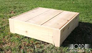 Make Outdoor End Table by Ana White Bristol Outdoor Side Table Diy Projects