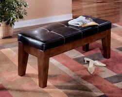 Ashley Larchmont D442 00 Signature Design Large Upholstered Dining Room Bench