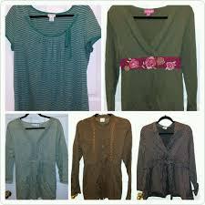 details about maternity clothes sz xl lot tops blouses motherhood