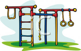 Playground Toys Jungle Gym With Monkey Bars