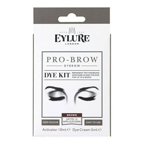 Eylure Pro Brow Dybrow Dye Kit - Dark Brown