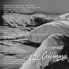 No Ceilings Track List Download by Blog U2014 Dj Mensa