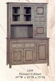 Free Standing Kitchen Cabinets Amazon by Amazon Com Hoosier Cabinet Primitive Green Free Standing