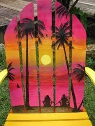 Custom Painted Margaritaville Adirondack Chairs by Margaritaville Chair Google Search Margaritaville Pinterest