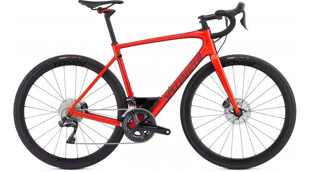 Specialized Roubaix Expert - Gloss Rocket Red/Candy Red Edg - 56cm