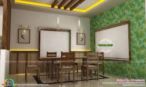 Dining Kitchen Living Room Interior Designs Kerala