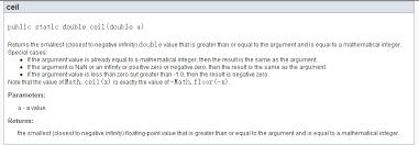 java中的math ceil是什么意思不会用 百度知道