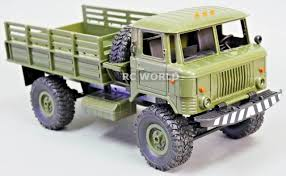 100 Military Truck 116 RC 4WD ROCK CRAWLER Scale MILITARY LED Suspension
