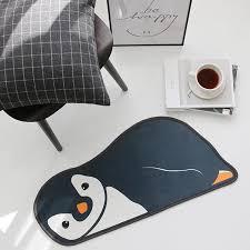 pinguin bär print teppich fußmatte kinder badezimmer non slip teppich schöne matte küche eingang teppiche für wohn roo