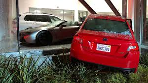 100 Century 8 Noho DUI Suspect In Custody After Car Slams Into Dealership In NoHo Ignites Fire