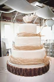 Awesome Rustic Wedding Cakes Cake Rose Bakes Perfect Boho With Real Roses