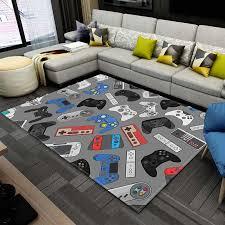 raum spielen teppiche gamer controller muster teppiche für wohnzimmer schlafzimmer bereich teppich anime 3d druck kinder spiel matten