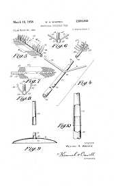 Puleo Christmas Trees by Patent Us2826845 Artificial Christmas Tree Google Patents