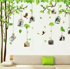 Ufengke Large Picture Photo Frame Tree Wall Art Decals Living Room Bedroom Removable Stickers Murals Set Of 2 Sheets Continue To The Product At