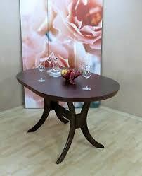 details zu esstisch ausziehbar oval esszimmertisch küchentisch tisch farbe nuss dunkel