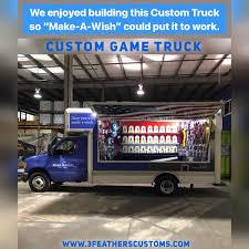 100 Game Trucks We Enjoyed Creating This Custom Truck So MakeAWish Can Put It