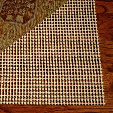 furniture magnificent area rug non slip pad non slip rug pads