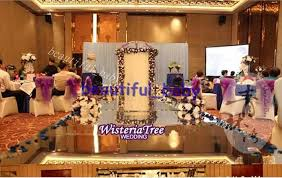Hot Sale 10m Shiny Wedding T Stage Decor Mirror Carpet Aisle Runner