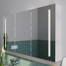 badezimmer spiegelschrank mit led thea
