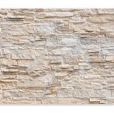 murando fototapete steinwand 350x256 cm vlies tapeten