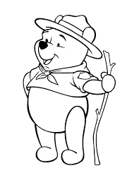 Coloring Page Winnie The Pooh