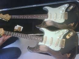 On Get This Johns Fender Custom Shop Relic 61 Strat Yeah Its Not Vintage Like A Lot Of People Naturally Assume So Is