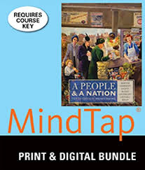 Bundle A People And Nation Volume II Since 1865 10th MindTap History 1 Term 6 Months Printed Access Card