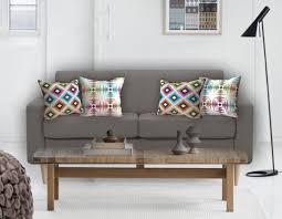 gros coussin de canapé coussins pour canapé taupe