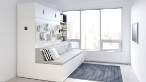 New IKEA Collaboration Features Robotic Furniture For Small ... Get Inspired Living Room Decor Ikea Moving Guide Ikea Used Its Existing Inventory To Create The Onic Extraordinary Table White Coffee Marble Set Cozy Design Ideas Rooms Tips To Choose Perfect Arm Chairs Sofas Qatar Blog Living Room Open Plan White Space With Kitchen Units Knoll New Collaboration Features Robotic Fniture For Small Stores Like 10 Alternatives Modern Fniture 20 Catalog Home And Furnishings Sofa Yellow Best 2017 Area This Pink Recliner Chair Has Been A Sellout Success