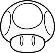 Yoshi Coloring Page See More Mario Mushroom