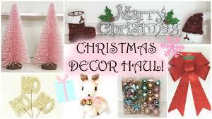 Christmas Decor Haul 2015 Dollar Tree Target HomeGoods Bath Body Works Wal Mart