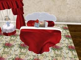 Second Life Marketplace Red Satin Heart Shaped Bed My Valentine