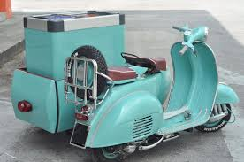 Vespa Ice Cream Sidecar VBB 1964