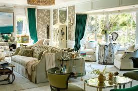 wohnen mit farben grüne highlights im interieur liegen