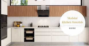 Advance Designing Ideas For Kitchen Interiors Types Of Modular Kitchen Materials