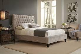 Velvet Headboard King Bed by Bedroom Interesting Bedroom With Tufted Headboard Velvet