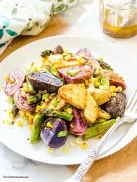 Grilled Fingerling Potato Salad With Whole Grain Mustard