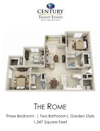 One Bedroom Apartments Durham Nc by Floor Plans Of Century Trinity Estates In Durham Nc