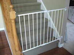 Baby Gate With Banister Kit Baby Gate For Stairs With Banister ... Building Our First Home With Ryan Homes Half Walls Vs Pine Stair Model Staircase Wrought Iron Railing Custom Banister To Fabric Safety Gate 9 Options Elegant Interior Design With Ideas Handrail By Photos Best 25 Painted Banister Ideas On Pinterest Remodel Stair Railings Railings Austin Finest Custom Iron Structural And Architectural Stairway Wrought Balusters Baby Nursery Extraordinary Material