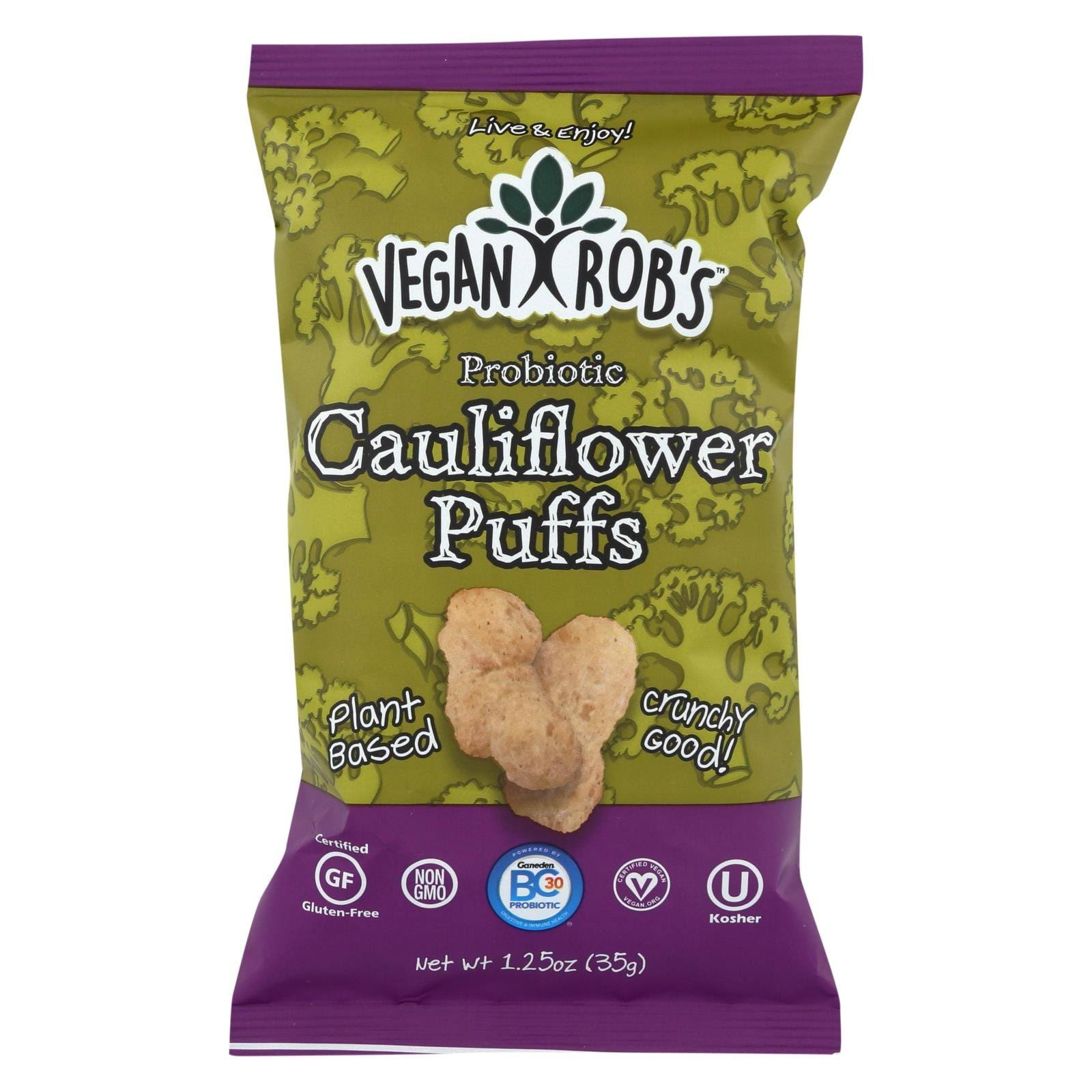 Vegan Rob's Cauliflower Puffs - 1.25oz, 12ct