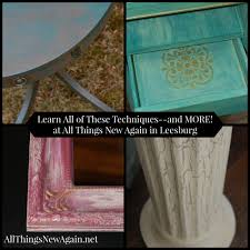 Learn How To Paint Furniture Class
