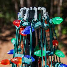 Flagpole Christmas Tree by Diy Christmas Ideas Make A Tree Of Lights Using A Basketball Pole