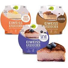 pumperlgsund kuchen käsekuchen fertig gebacken low carb 450 g 6 x mix