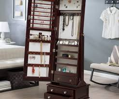 Christmas Standing Jewelry Box Standing Jewelry Box Jewelry Ideas ... Jewelry Armoires Bedroom Fniture The Home Depot Armoire Mirror Modern Style Belham Living Hollywood Mirrored Locking Wallmount Mele Co Chelsea Wooden Dark Walnut Amazoncom Powell Classic Cherry Kitchen Ding Natalie Silver Top Black Options Reviews World Southern Enterprises Mahogany
