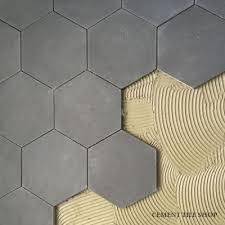 gray hexagon floor tile carpet flooring ideas