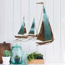 enchanting sailboat wall decor 12 sailing wall decor metal wall